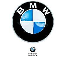BMW Genuine Hood Emblem Roundel Badge FITS MOST MODELS 51148132375