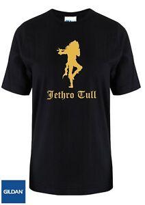 Jethro Tull T-shirt Ian Anderson retro music 1960's unisex gift present Gildan