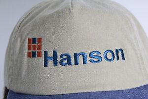 Hanson Khaki & Denim Vgard  Baseball Cap Hat