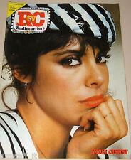 TV RADIOCORRIERE=1985/2=NADIA CASSINI=NINETTO DAVOLI=PAOLO CONTE=MORICONI V.=