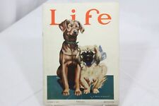 Life MagazineOctober 11, 1923 B Cory Kilvert  Dog Friends Pencil Art Stories