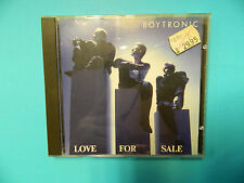 BOYTRONIC - Love For Sale - West-Germany CD  Metronome 835640-2