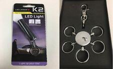 Led Lenser K2 + Mammut Modular Schlüsselanhänger 7155 - Bundle