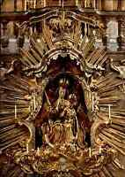 Religion Motiv-Postkarte Gnadenbild im Kloster Andechs color AK ungelaufen