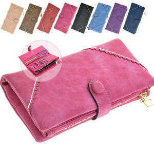 Long Wallet Stylish Women Leather Female Coin Purse Money Bag Ladies Card Holder