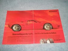 "1994 Bfgoodrich Tires Vintage 2pg ad con Ford GT40 "" Stesso Scrittura On The"