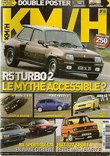 KM/H 18 FIAT 127 SPORT R5 TURBO AUDI S3 BMW 318is FIESTA ST MERCEDES 190 2.3-16