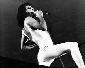 8x10 Print Freddie Mercury Queen on Stage Performing #7733