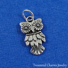 Silver OWL CHARM Hooter Bird PENDANT *NEW*