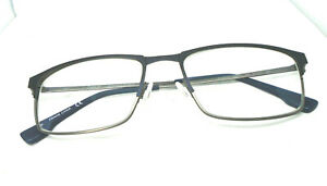 Flexon E1075 412 Navy/Gunmetal 53-17-140 Mechanical Synergy Eyeglasses Frames
