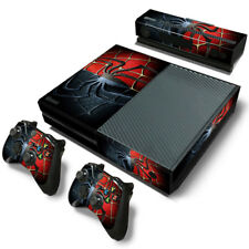 Skin Decal Sticker FOR XBOX ONE Console 2Controllers Spider-Man Spiderman