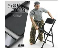 1/6 Scale Stand Support Display PVC folding Chair For BJD HOT Toys