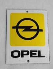 OPEL LOGO (aktuell) - Schild  - 12 cm x 9 cm  - Emailschild - Türschild