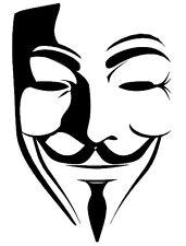 2 pegatinas V de Vendetta  vinilo no 315