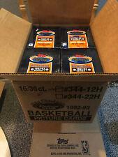 1992-93 Topps Stadium Club Series 1 Factory Sealed Box 36 Packs Michael Jordan ?