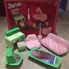 Barbie dream house moblier année 1977 theme vert - Living room- Mattel 2151