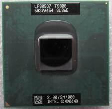 Procesador CPU Intel Core 2 Duo T5800 SLB6E 2.00Ghz 2MB 800Mhz