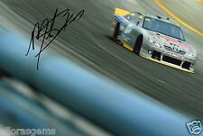 "American STOCK CAR DRIVER Mike Skinner HAND SIGNED PHOTO 12x8"" AA"