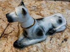 James B Beam Porcelain Dog Empty Bottle Dog Figurine Decanter