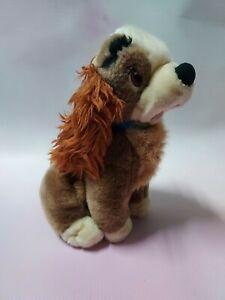 Lady And The Tramp Plush Cute Dog Toy Movie Memorabilia Disney