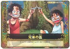 One Piece One Py Berry Match W Luffy & Ace SR S025-W
