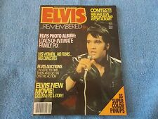 ELVIS REMEMBERED - USA  August 1979 -RARE !!!