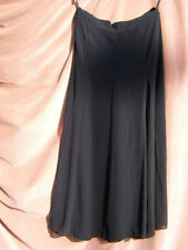 Chiffon Patternless A-line Casual Skirts for Women