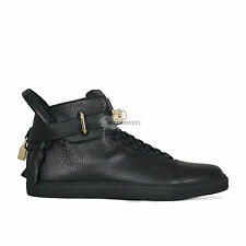 BUSCEMI 100MM KEY AND PADLOCK BLACK HI TOP SNEAKERS FREE SHIPPING