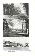 1959 The Western Approach To Ampthill With Cottages Linking Town And Country