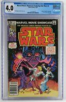 Marvel Movie Showcase Featuring Star Wars #2 CGC 4.0