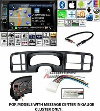 Kenwood Excelon Double Din DVD Navigation Carplay Install Kit Harness Bluetooth