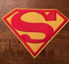 Superman Embroidery Hot Iron Heat Press Patch
