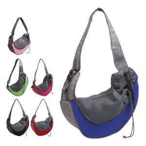 S/L Backpack Pet Dog Cat Carrier Bag Dog Backpack Transport Bag Hand Free Z2I5