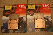 SUZUKI RG 250 WD gamma EBC Pastiglie dei freni sinterizzati in metallo vo