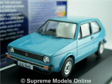 CORGI VA12008 VOLKSWAGEN GOLF MK1 MODEL CAR MIAMI BLUE 1:43 VANGUARDS ONE K8