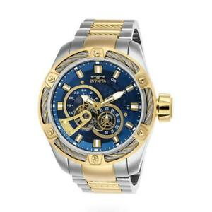 Invicta Bolt 26778 Men's Round Teal Automatic 12 & 24 Hour Analog Watch