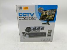 Open Box CCTV Security Recording System w/ Internet and 4G Phone Viewing -LH0205