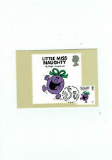 Little Miss Naughty - Mr Men - Stamp Single PHQ Maxi Cards Postcard Tallents