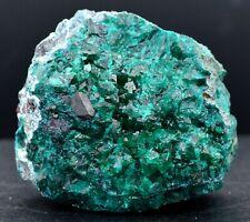Dioptase & cuprite plancheïte - 261 grammes - Tantara Mine, Shinkolobwe, Congo