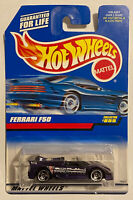 1998 Hotwheels Ferrari F50 Purple Long Card! Very Rare! Mint! MOC!