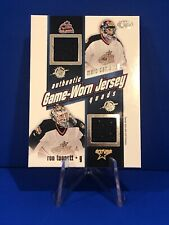 2002-03 Pacific Heads Up Columbus Blue Jackets Quad Game Used Jersey