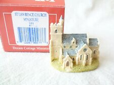 "#10.411# (LL-08) ""St. Lawrence Church Miniature"" von Liliput Lane (Nr. 277)"
