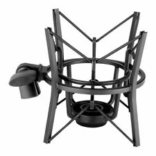 SH-100 Black Studio Microphone Shock Mount for large size microphones