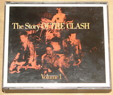 THE CLASH ~ THE STORY VOL 1 ~ UK CBS 1ST PRESS DOUBLE 2x CD FAT CASE BOX 1988