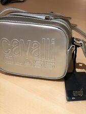 Cavalli Class Shoulder Bag Silver Nancy