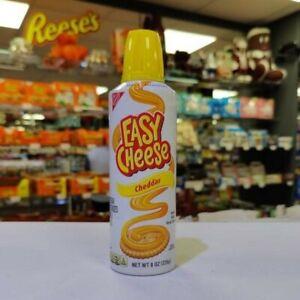 Easy Cheese Cheddar 8oz (226g) USA Import