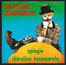 """Sandra Mondaini : Spingio / Sbirulino innamorato - vinile 45 giri / 7"""" - 1979"""