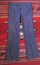 Women's Jeans by Serfontaine Size 26 Dark Blue Stretchy