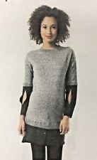 fa17ec5e5d9 Maternity PIP   VINE  96 Rosie Pope MOCK LAYER Sweater Dress Women s XL X  Large