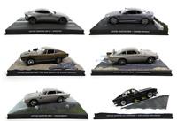 Lot de 6 Aston Martin James Bond 007 1/43 Eaglemoss Voitures Miniatures LJB1